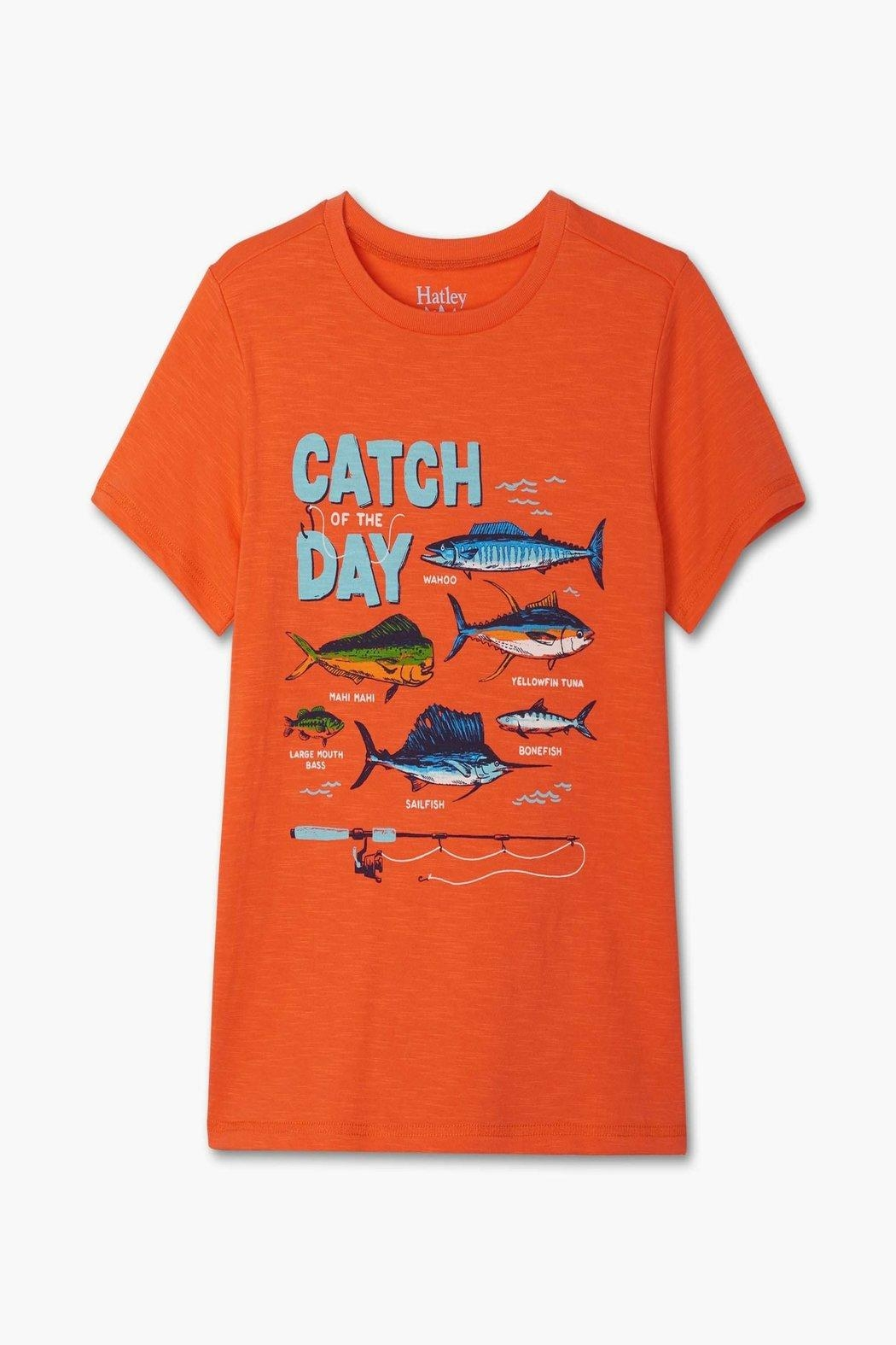 Hatley Catch Of-The-Day Tee - Main Image