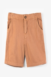 Hatley Coconut Brown Woven-Shorts - Product Mini Image