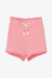 Hatley French-Terry Paper-Bag Shorts - Product Mini Image