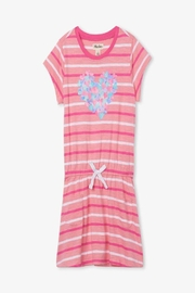 Hatley Hearts Front-Pocket Drop-Waist Dress - Product Mini Image