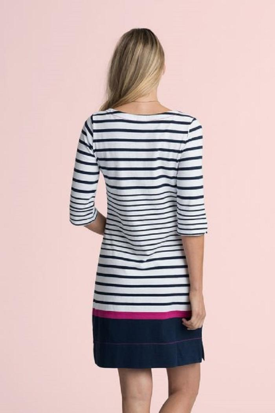 Hatley Lucy Striped Dress - Front Full Image