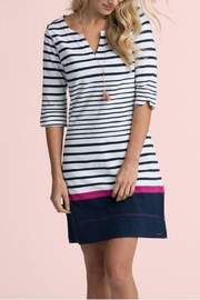 Hatley Lucy Striped Dress - Front cropped