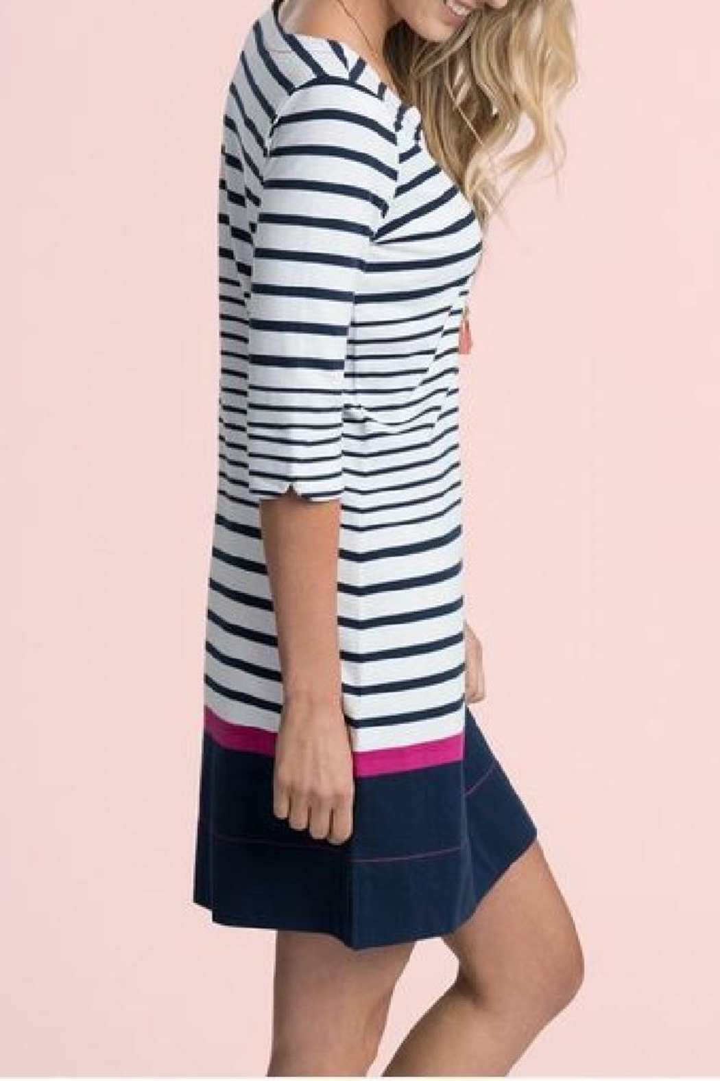 Hatley Lucy Striped Dress - Side Cropped Image