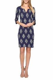Hatley Navy Floral Dress - Product Mini Image