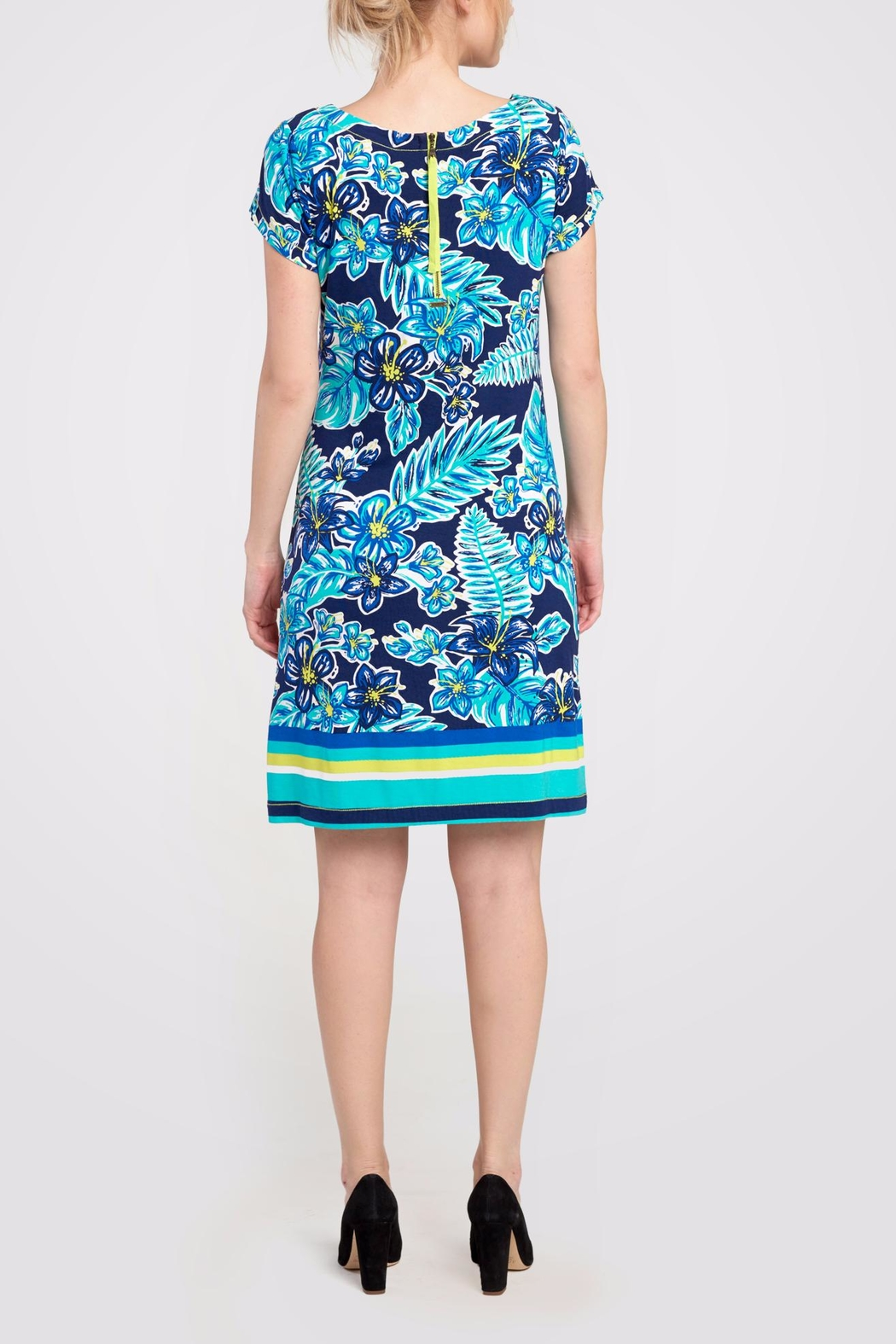 Hatley Print Shift Dress - Front Full Image