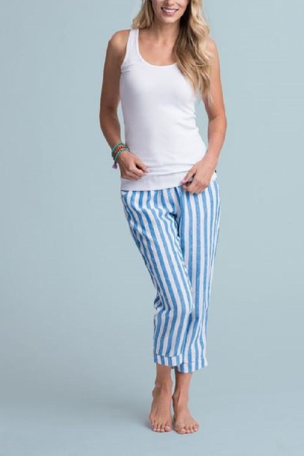Hatley Ribbed Tank Tops - Front Cropped Image