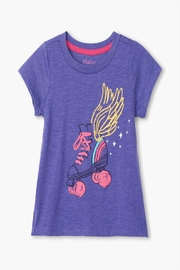 Hatley Roller-Girl Tie Back-Tee - Front cropped