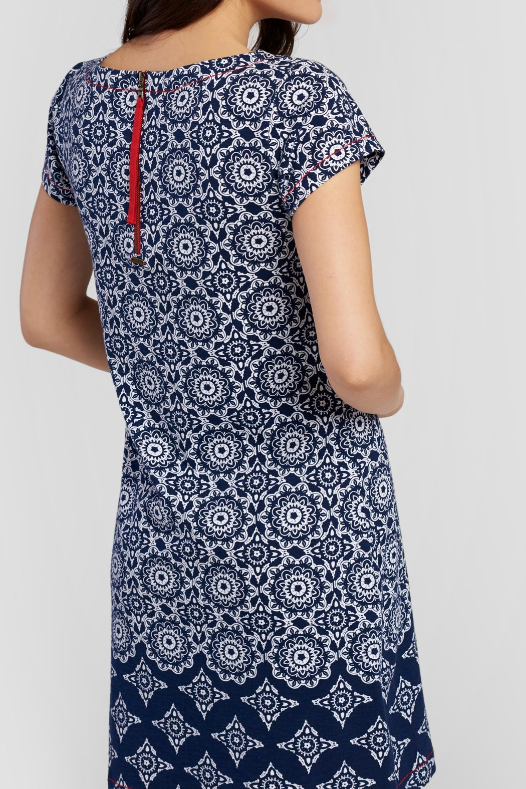 Hatley Shift Printed Dress - Front Full Image