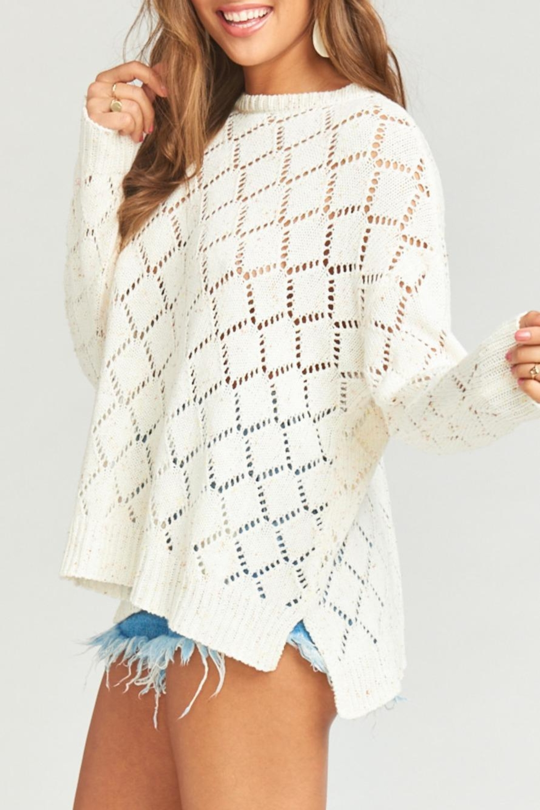 Show Me Your Mumu Hattie Sweater - Side Cropped Image