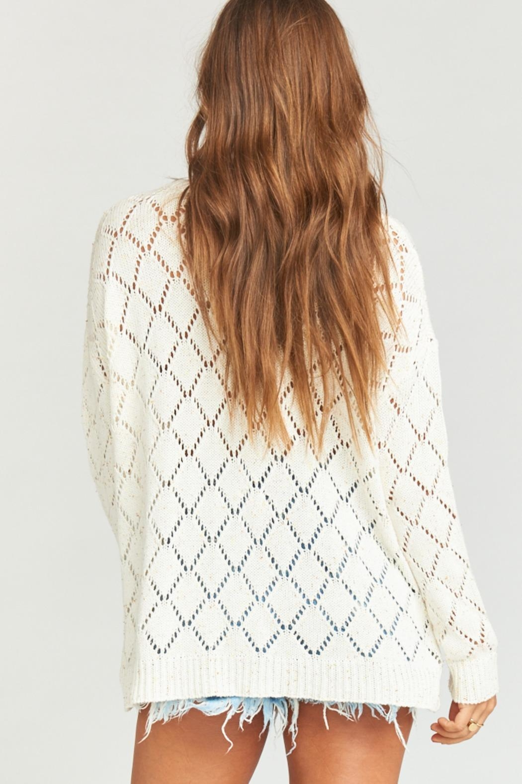 Show Me Your Mumu Hattie Sweater - Back Cropped Image