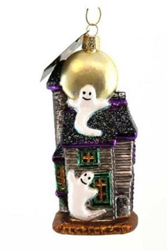 Old World Christmas Haunted House Ornament - Alternate List Image