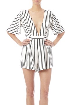 Shoptiques Product: Black White Romper