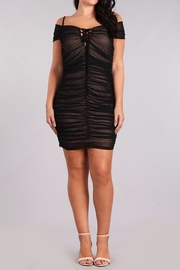 Haute Apparel Ruched Bodycon Dress - Product Mini Image