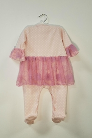 Haute Baby Avery Grace Skirted Footie - Side cropped