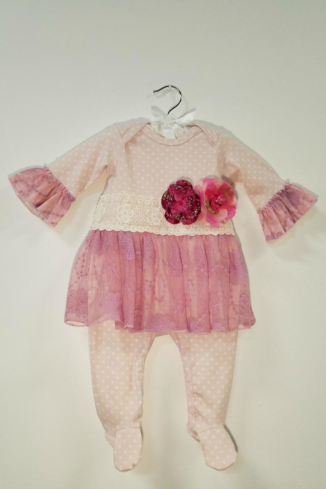 Haute Baby Avery Grace Skirted Footie - Main Image
