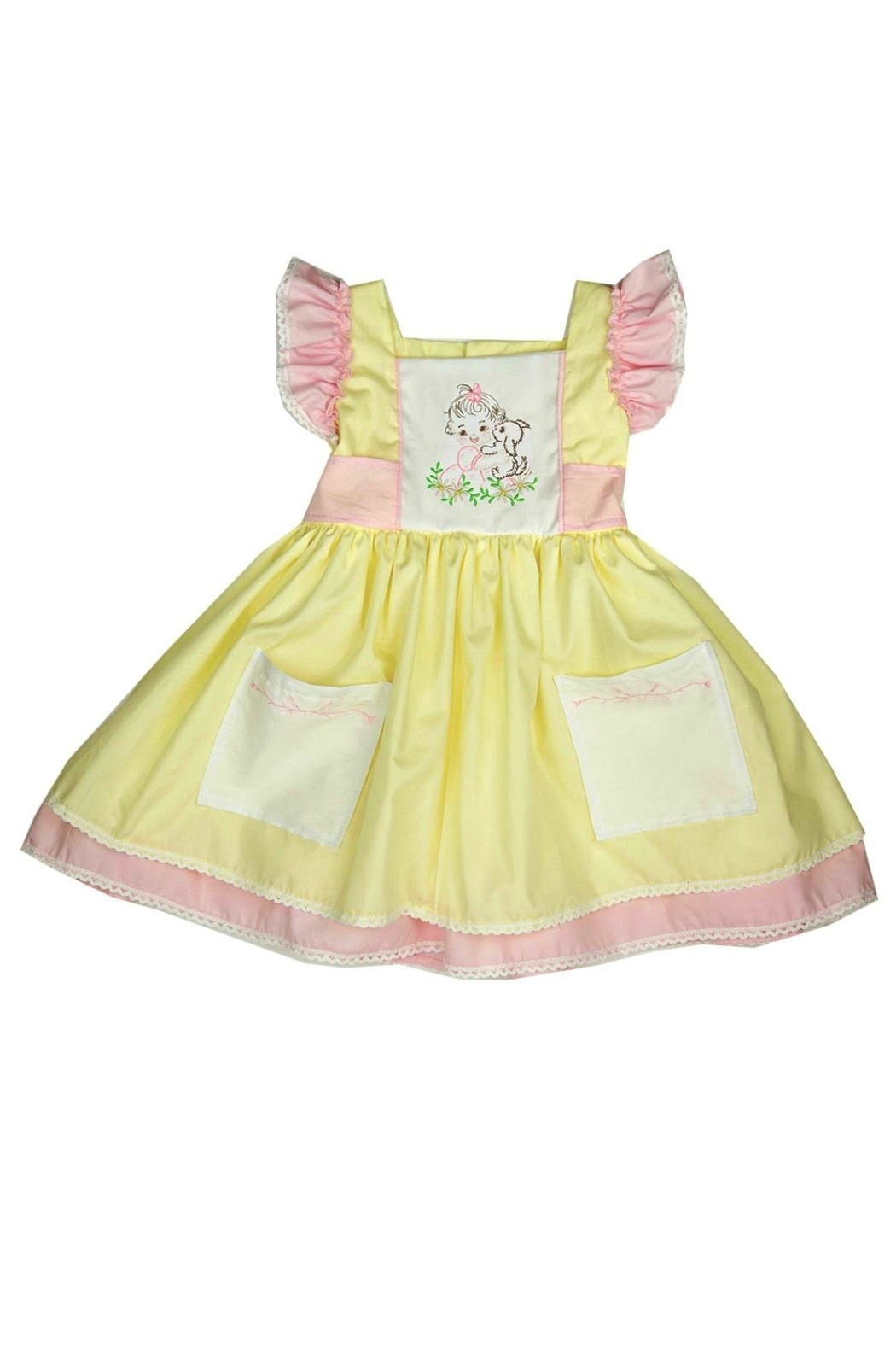 Haute Baby Cutie-Pie Embroidered Dress - Main Image