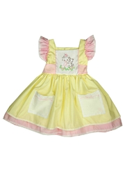 Haute Baby Cutie-Pie Embroidered Dress - Front cropped