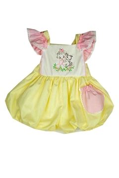 Haute Baby Cutie-Pie Embroidered Sunsuit - Product List Image