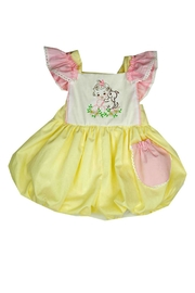 Haute Baby Cutie-Pie Embroidered Sunsuit - Front cropped
