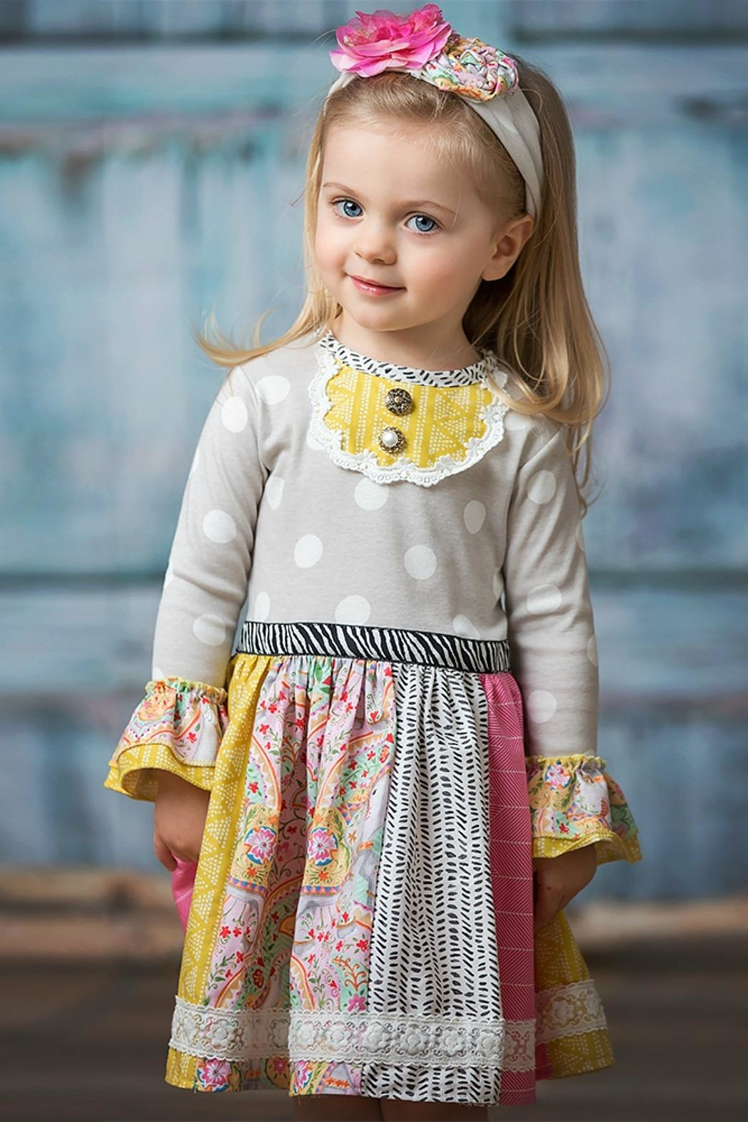 Haute Baby Whimsical Girls Dress - Front Cropped Image