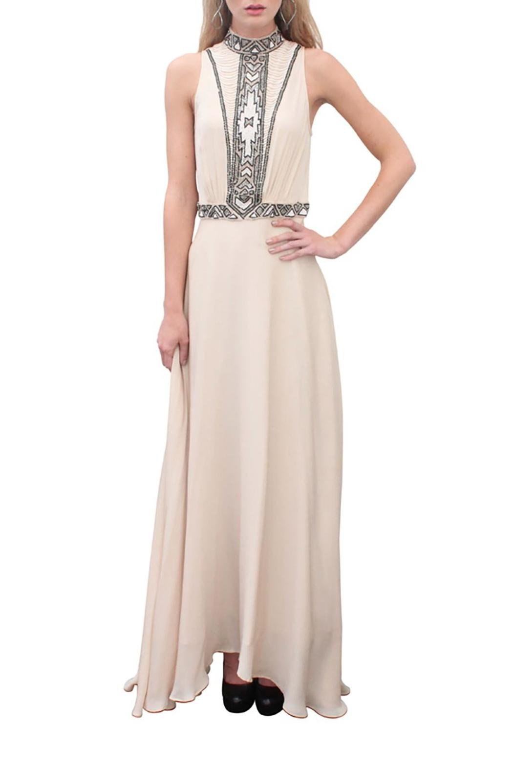 Haute Hippie Embellished Apache Gown from San Diego by Matti D ...