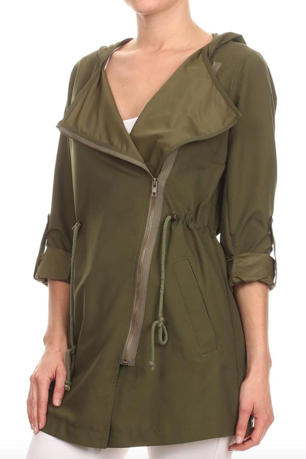 Haute Monde Summer Rain Jacket from Illinois by Gentry Boutique ...