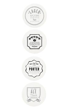 Shoptiques Product: Large Beer Coasters