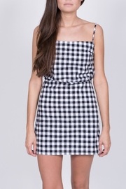 Haute Rogue Gingham Mini Dress - Product Mini Image