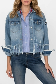 Haute Rogue Riah Denim Jacket - Product Mini Image