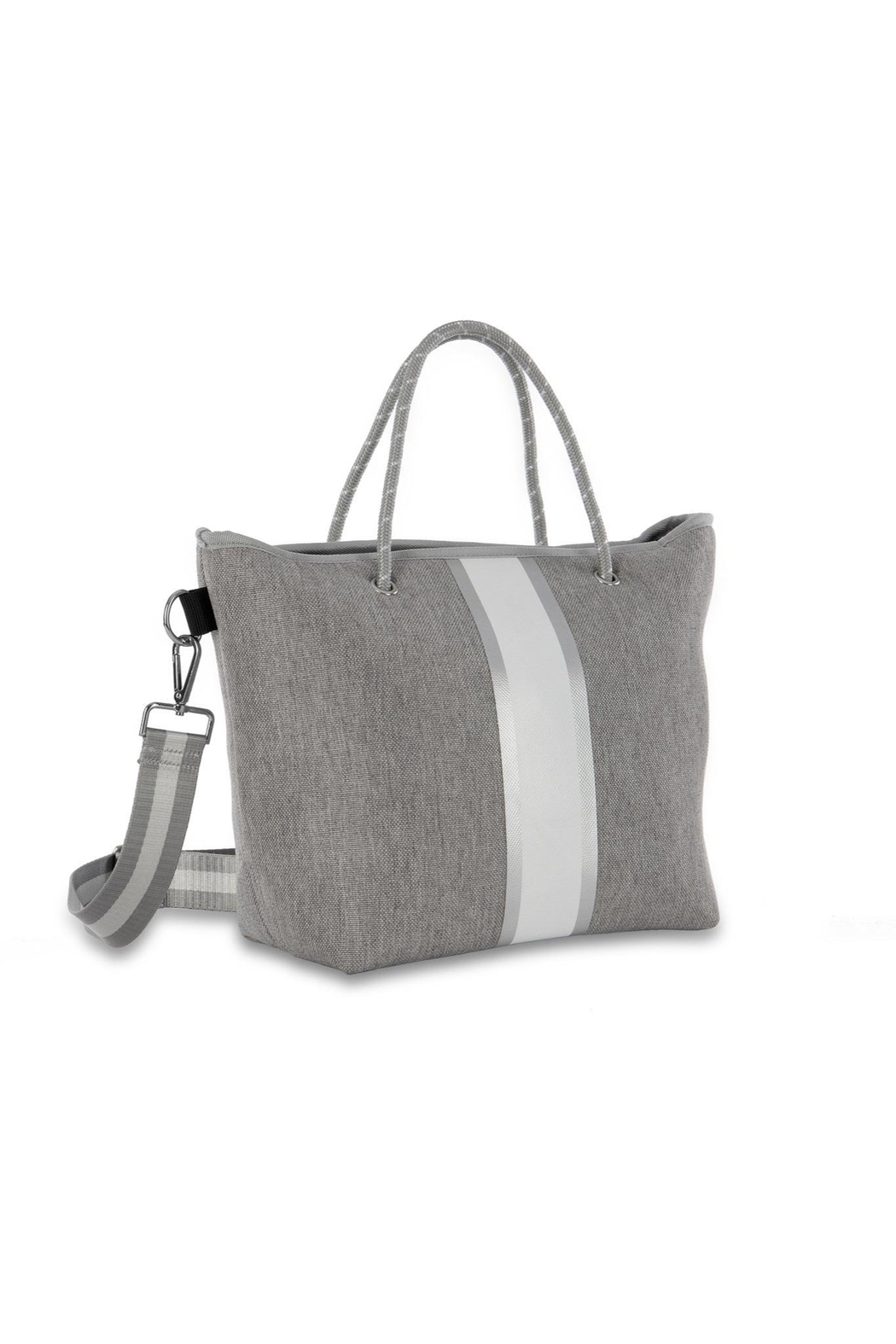 Haute Shore Bags Linen Textured Tote - Side Cropped Image
