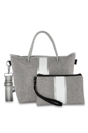 Haute Shore Bags Linen Textured Tote - Front full body