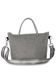 Haute Shore Bags Linen Textured Tote - Back cropped