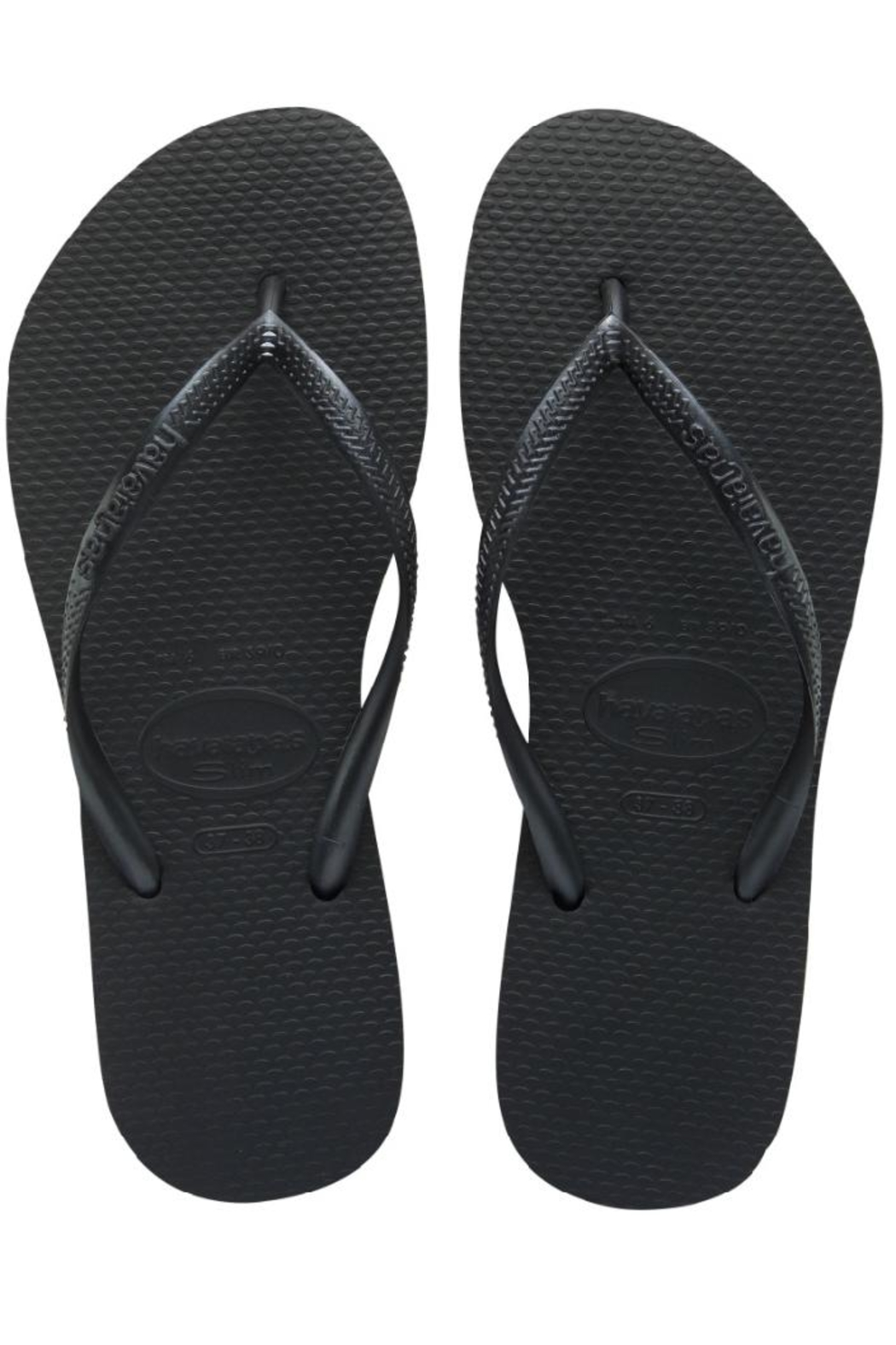 9736516cbb4732 Havaianas Black Sandal from Miami by Allie   Chica — Shoptiques