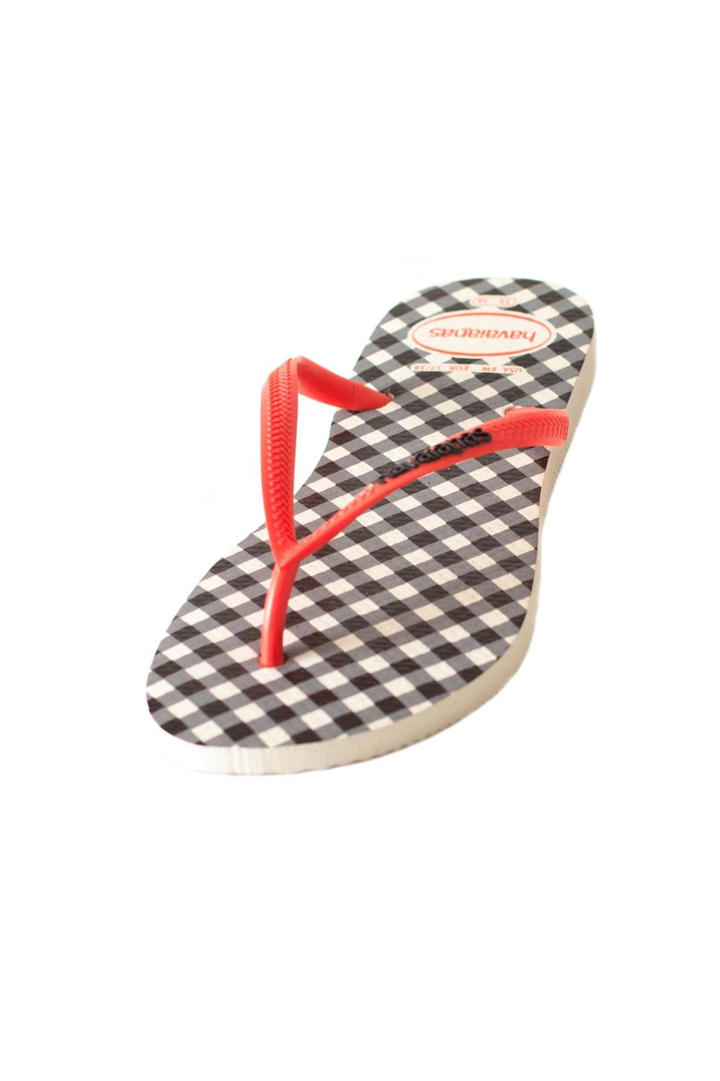 Havaianas Checkered Sandal - Front Full Image