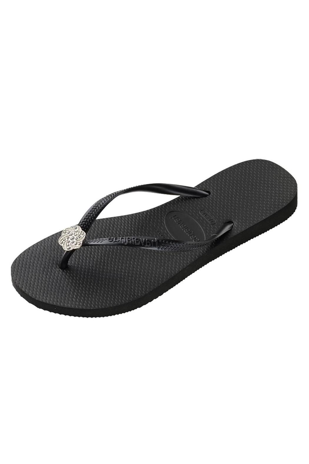 ae33a0729842a3 Havaianas Flower Embellished Flip-Flops from Washington by Dolly ...