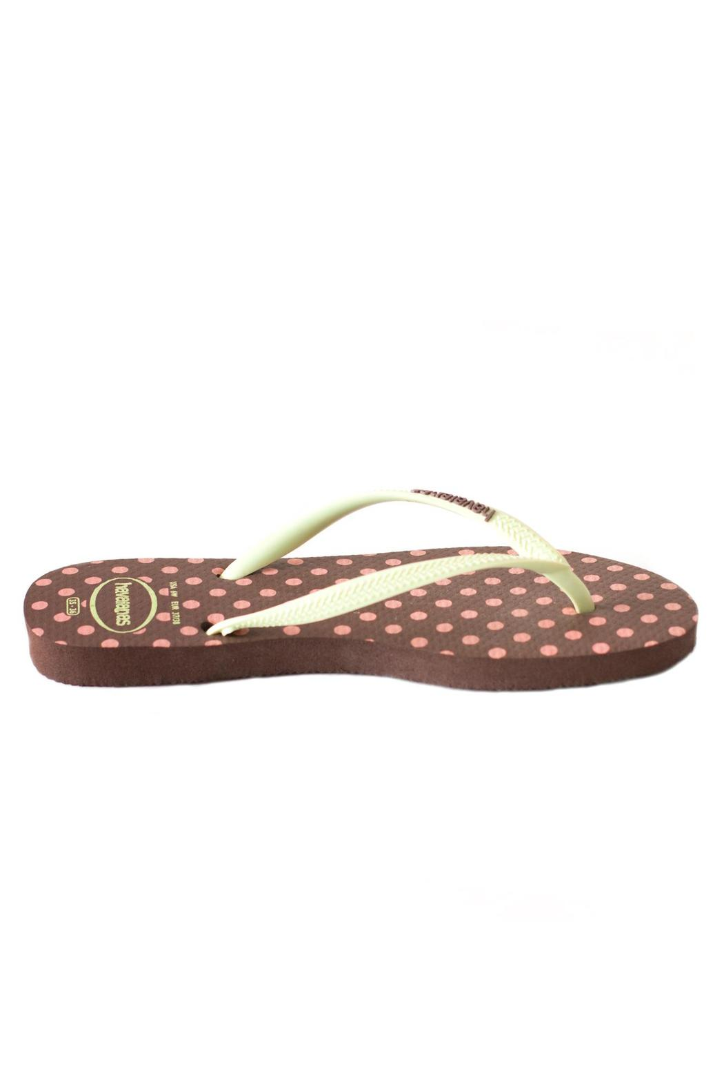 Havaianas Polka Dot Sandal - Side Cropped Image