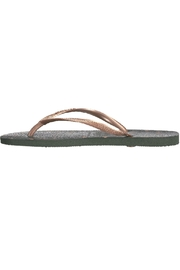 Havaianas Moss Green Slippers - Product Mini Image