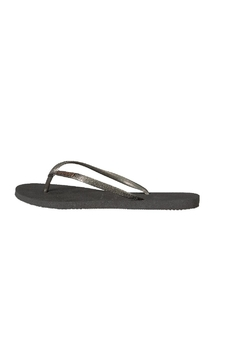 Shoptiques Product: Slim  Metallic Flip Flops