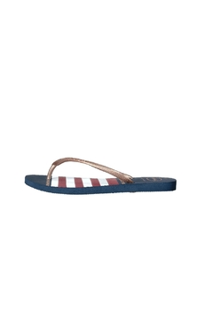 Shoptiques Product: Slim Nautical Flip Flops