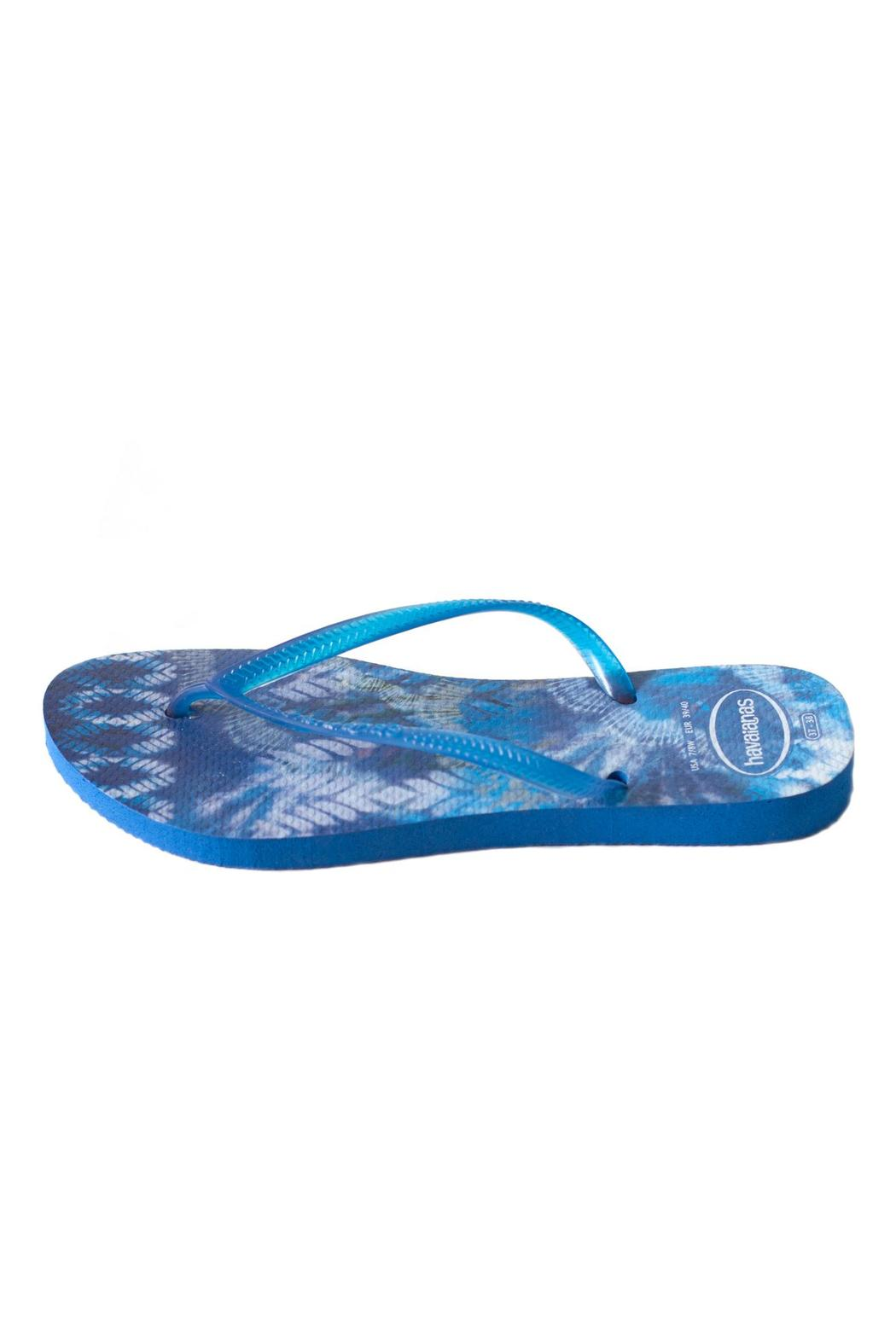 Havaianas Tie Dye Flip-Flop - Front Cropped Image