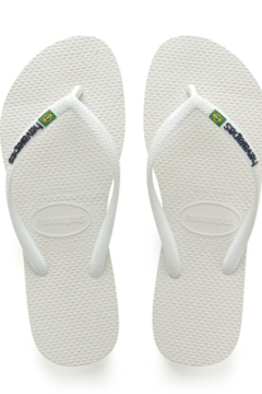 Havaianas White Slim Brazil - Product List Image
