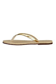 Havaianas Elegant Gold Slippers - Product Mini Image