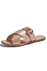 Vintage Havana  Havana Buckled Slide Sandal - Product Mini Image