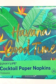 SunnyLife Havana Cocktail Napkins - Product Mini Image