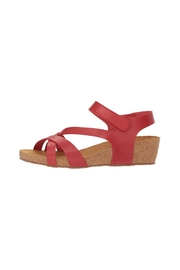 Eric Michael Havana Cork Wedge - Front cropped
