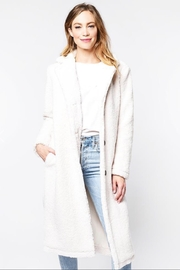 Cupcakes and Cashmere Havana Faux Shearling Coat - Product Mini Image