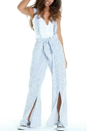 Lucy Love Havana Suspender Pant - Product Mini Image