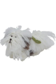 Arcadia Home Havanese - Hand Knit Alpaca Wool Ornament - Front cropped