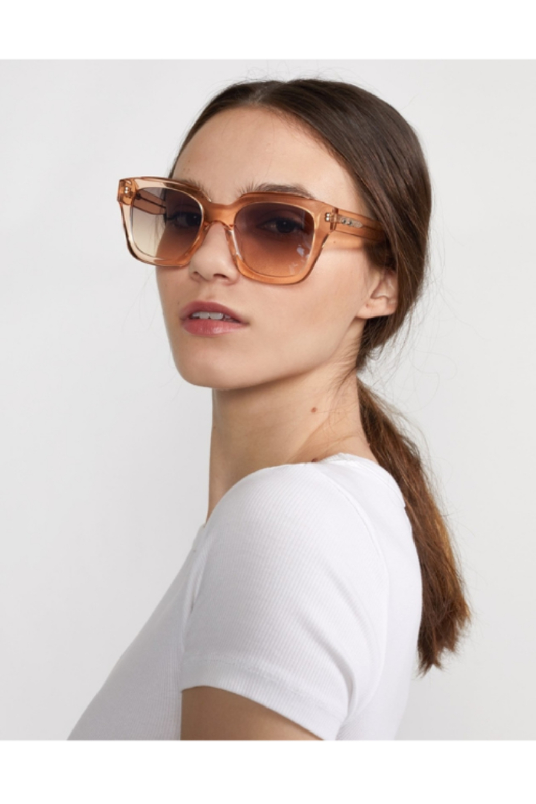 Cynthia Rowley Havar Sunglasses - Back Cropped Image