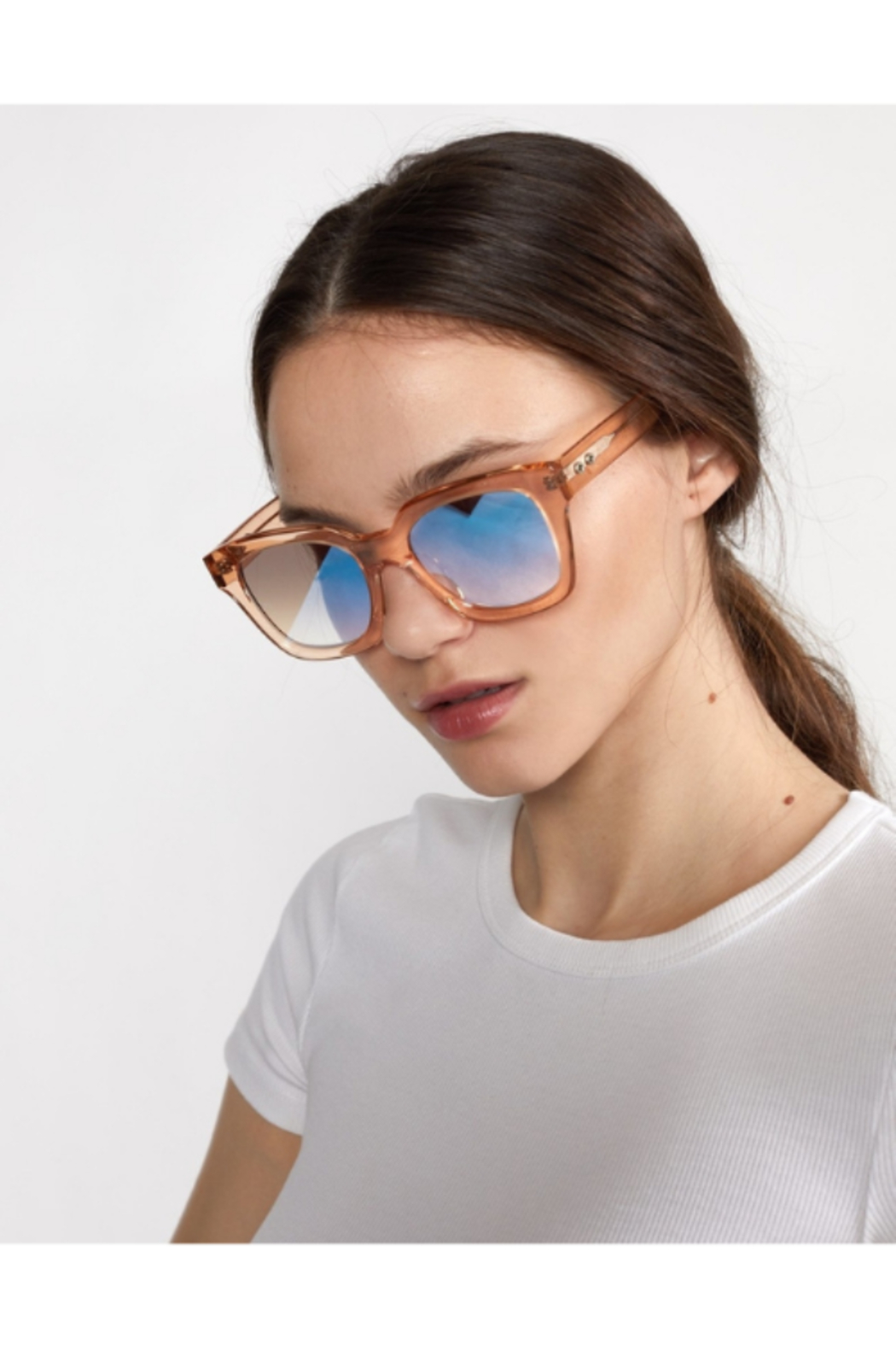 Cynthia Rowley Havar Sunglasses - Side Cropped Image